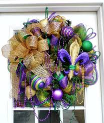 mardi gras mesh mardi gras mesh wreath fleur de lis mardi gras wreaths and holidays