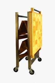 folding kitchen island cart concrete countertops origami folding kitchen island cart lighting
