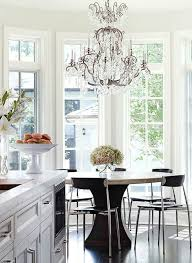 Kitchen Round Tables by Bay Window Round Dining Table Design Ideas