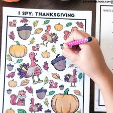 top 10 thanksgiving printables squirrelly minds