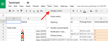 Create A Doc Spreadsheet Forms Guide Everything You Need To Great Forms For