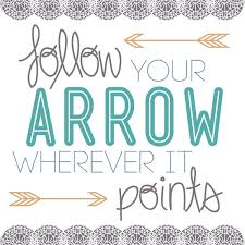 follow your arrow wherever it points tattoo idea photo 3 photo