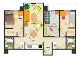 How To Design Your Own Home Online Free 3d Colored Floor Plan Architecture Colored Floor Plan Design Your