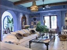 interior modern mediterranean living room design warm cozy