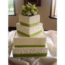 Square Wedding Cakes Orchid Green Wedding Cake Square Wedding Cakes Square Whit