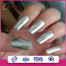 highly brilliant color mirror effect nail pigment chrome mirror
