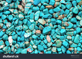 turquoise stone turquoise mineral raw background beautiful blue stock photo