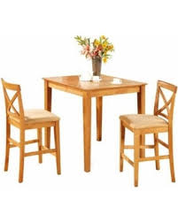 Oak Bistro Table Winter Deals On East West Furniture Oak Pub Table And 2