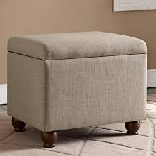 Ottomans by Better Homes And Gardens Grayson Linen Square Ottoman With
