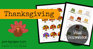 free thanksgiving printable preschool kindergarten
