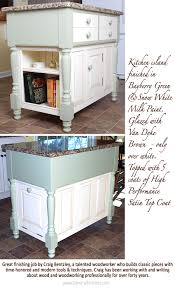 kitchen island bayberry milk paint general finishes general