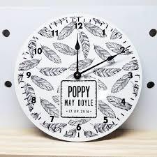 Clock Made Of Clocks by Personalised Kids Clocks Spatz Mini Peeps