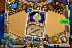 hearthstone android hearthstone now available for android tablets polygon