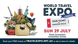World travel expo showcasing the americas pcec