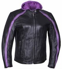 leather motorcycle jackets for sale purple stripe leather motorcycle jacket hoodie on sale