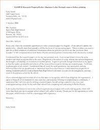 letter of proposal format letter idea 2018