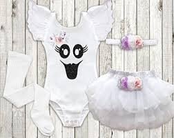 Girls Ghost Halloween Costume Baby Ghost Costume Etsy