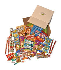 thinking of you gift baskets snack gift basket care package with 26 sweet and salty snacks plus