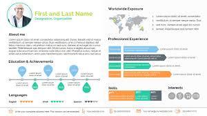 new resume format 2015 template ppt smart resume presentation templates creative market
