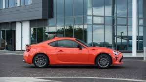 modified toyota gt86 toyota gt86 club series orange edition goes on sale in uk from
