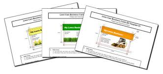 Lawncare Business Cards Lawn Care Business Information On Starting And Running Your Own