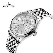 Wyoming watch travel case images Reef tiger heritage ii dress watch automatic white dial steel case jpg