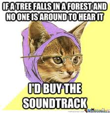 Hipster Cat Meme - hipster cat by qwertytreqz meme center