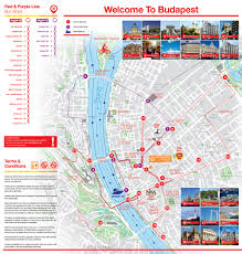 Hop On Hop Off New York Map by City Sightseeing Budapest Hop On Hop Off Overview