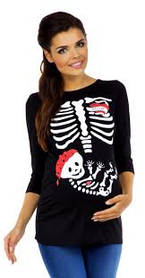 pregnant halloween shirt skeleton zeta ville women u0027s maternity halloween baby skeleton funny tee