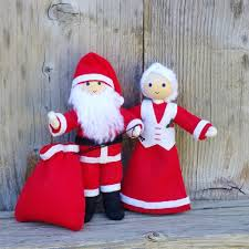 Santa Claus Dolls Handmade - santa claus doll wildflower toys