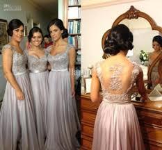 blue gray bridesmaid dresses discount grey chiffon bridesmaid dresses 2017 grey