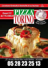 livraison cuisine pizza torino agadir home agadir morocco menu prices