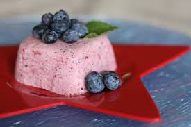 independence day berries and cream u2013 mixed berry mousse and