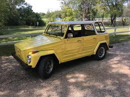 Vw Thing Side Curtains 1973 Volkswagen Thing For Sale 2002956 Hemmings Motor News