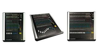 Home Studio Mixing Desk by M Series Soundcraft Professional Audio Mixers