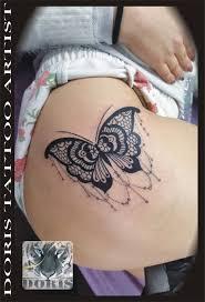 mandala lace butterfly thigh doris aluf