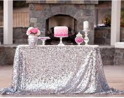 wedding tablecloth etsy