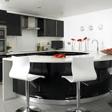 black kitchen design ideas modern black and white kitchens black and white kitchen