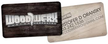 Card For Business Cards Wood Werx An Identity Design Coupled With A Business Card For A