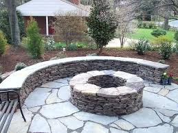 Diy Backyard Fire Pit Ideas Outdoor Fire Pit Diy Large Fire Pit Round Stone Fire Pit And Bench