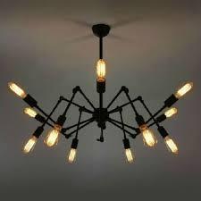 Retractable Ceiling Light by Retractable 12 Bulb Ceiling Lamp Sputnik Large Chandelier Rh