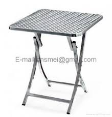 Stainless Steel Folding Table Stainless Steel Folding Chairs Foter