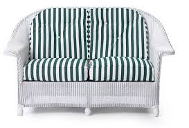 lloyd flanders front porch loveseat replacement cushions