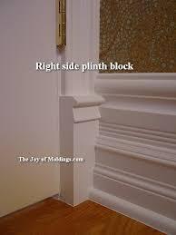 the wonderful world of plinth blocks the joy of moldings com