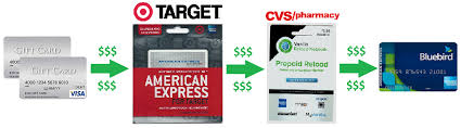 cvs prepaid cards how to load bluebird with gift cards without walmart