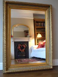 Vintage White Bedroom Mirrors Now Sold Antique Style Large Gilt Frame Wall Mirror By Consort