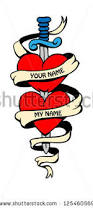 love heart tattoo stock images royalty free images u0026 vectors