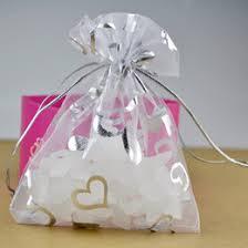 white organza bags discount white organza bags hearts 2017 white organza bags