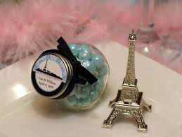 eiffel tower favors eiffel tower mini glass candy jars favors pavia