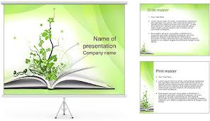 green book powerpoint template free green book powerpoint template